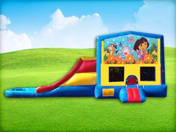 Dora Bouncy House & Slide