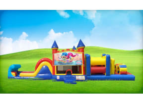 50ft Shimmer and Shine Obstacle w/ Wet or Dry Slide