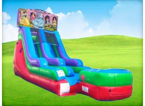 15ft Disney Princess Retro Wet/Dry Slide