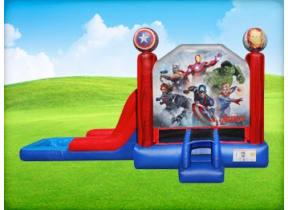3in1 Marvel Avengers EZ Combo w/ Wet or Dry Slide