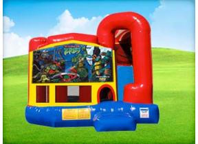 Ninja Turtles 4in1 Combo w/ Wet or Dry Slide