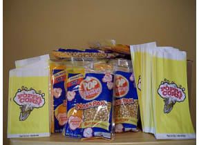 Extra Popcorn Supplies for 50