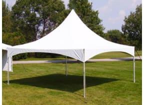 20' x 20' High Peak Tent Rental