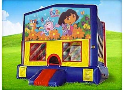 Inflatable Dora Bounce House