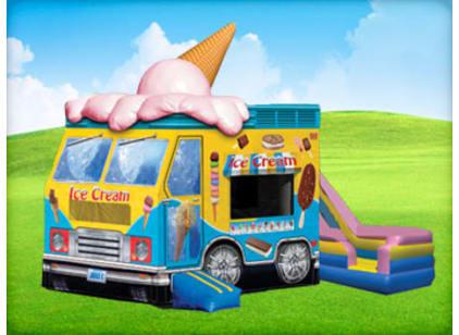 Ice Cream Truck Bounce House Combo