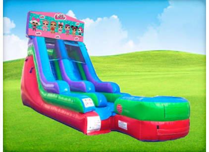 15ft LOL Surprise Retro Wet/Dry Slide
