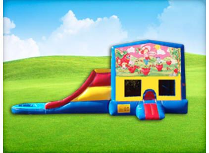 Strawberry Shortcake Jump House and Slide