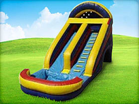Inflatable Dry or Wet Water Slide