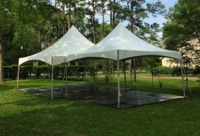 15 x 15 High Peak Tent Rental Houston