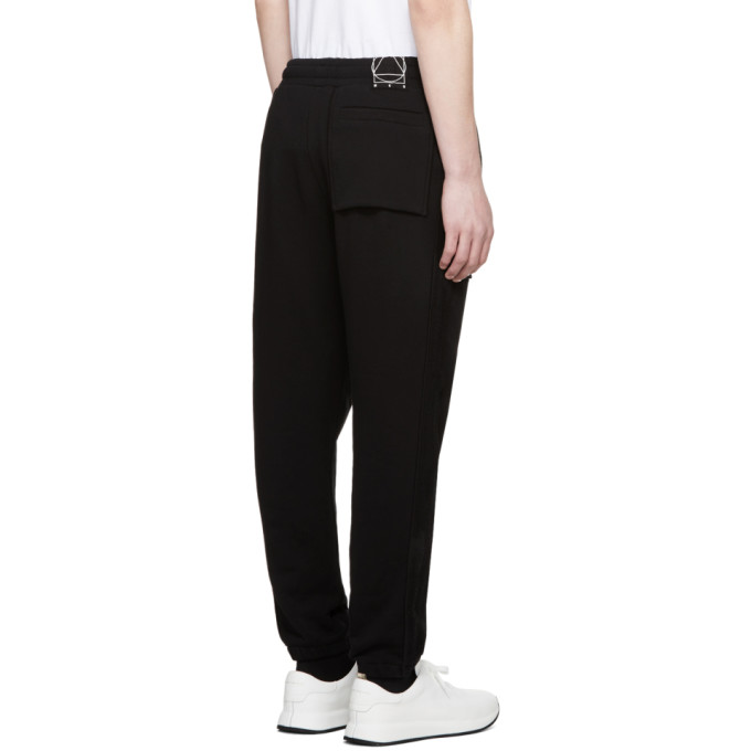 Black Inside Out Lounge Pants Alexander McQueen Outlet High Quality Great Deals Cheap Price 0oes2