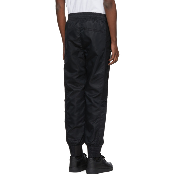 Cheap Sale Pictures Sale Wide Range Of Black Snap Track Pants Helmut Lang lekL7Y5c5