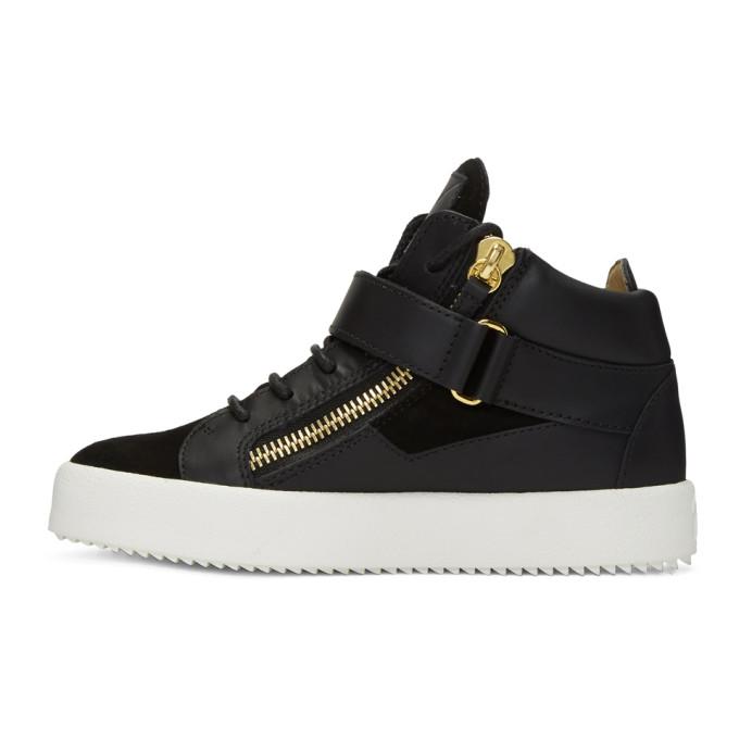 Giuseppe Zanotti SSENSE Exclusive Black May London Donna High-Top Sneakers ZS6Bmen