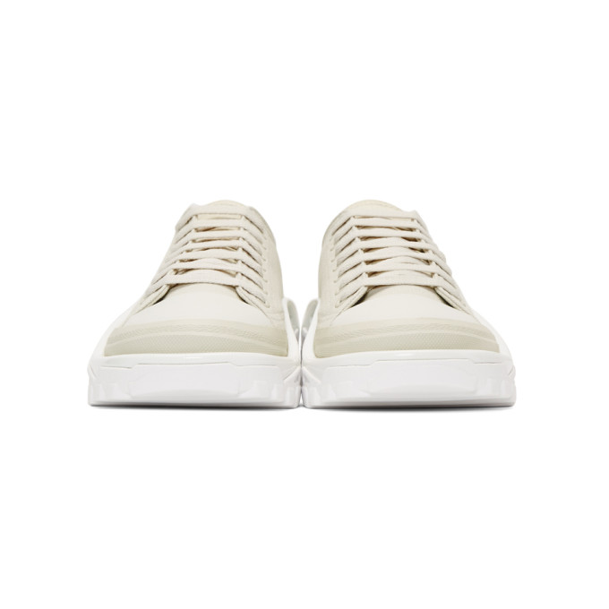 + Adidas Originals Detroit Canvas, Rubber And Mesh Sneakers - GrayRaf Simons