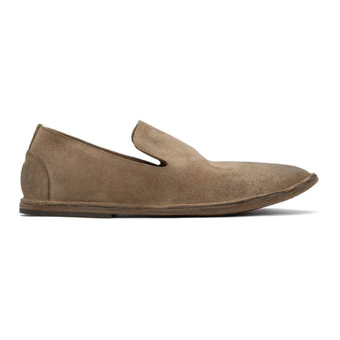 Marsèll Brown Suede Strasacco Loafers N29LmS2w