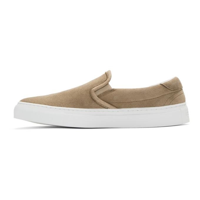 Diemme Navy 'Forever Fendi' Slip-On Sneakers qF1Cl