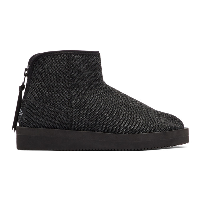 Black Toby Knit Boots Suicoke Discount Clearance 2018 Cheap Online Buy Cheap Best Sale Discount Shop For Outlet Inexpensive MRQmAM7