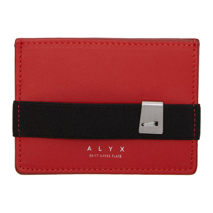 Red Ryan Card Holder Alyx 9snegCYf4