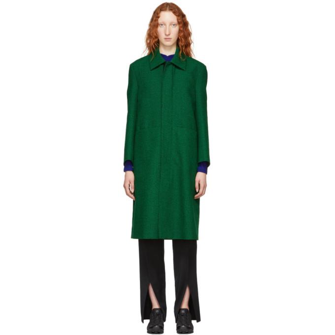 Green Bugr Coat In Line ModeSens Green Long Namacheko PqxXYFn
