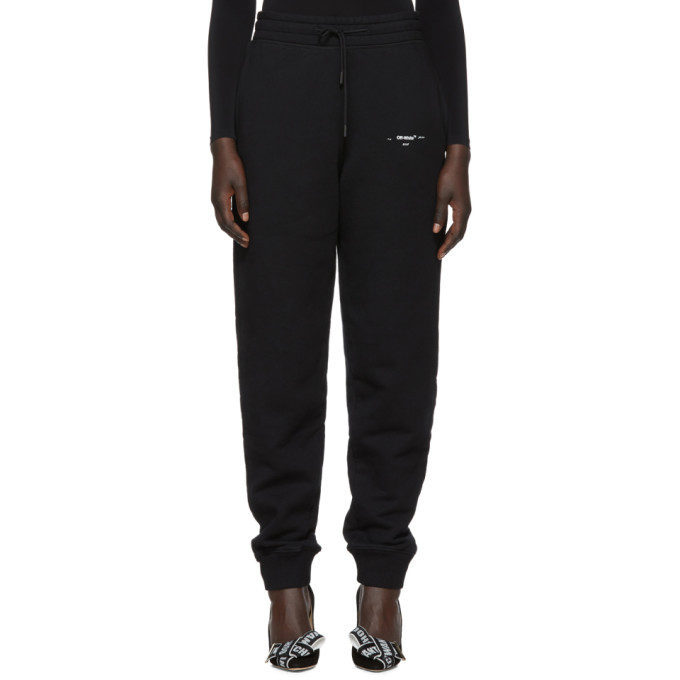 Black Diagonal Marker Arrows Lounge Pants Off-white Buy Cheap Wide Range Of Cheap Sale Low Shipping Fee Ebay Cheap Online yYuseuuNN
