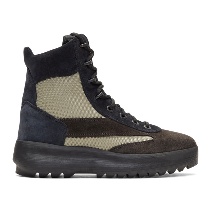Season 6 Combat Boots - IT39 / Brown Yeezy by Kanye West CkPTX51