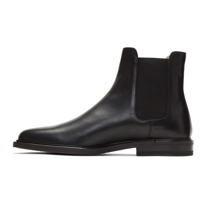 Cross-grain Leather Chelsea Boots - BlackCommon Projects u4MLZ