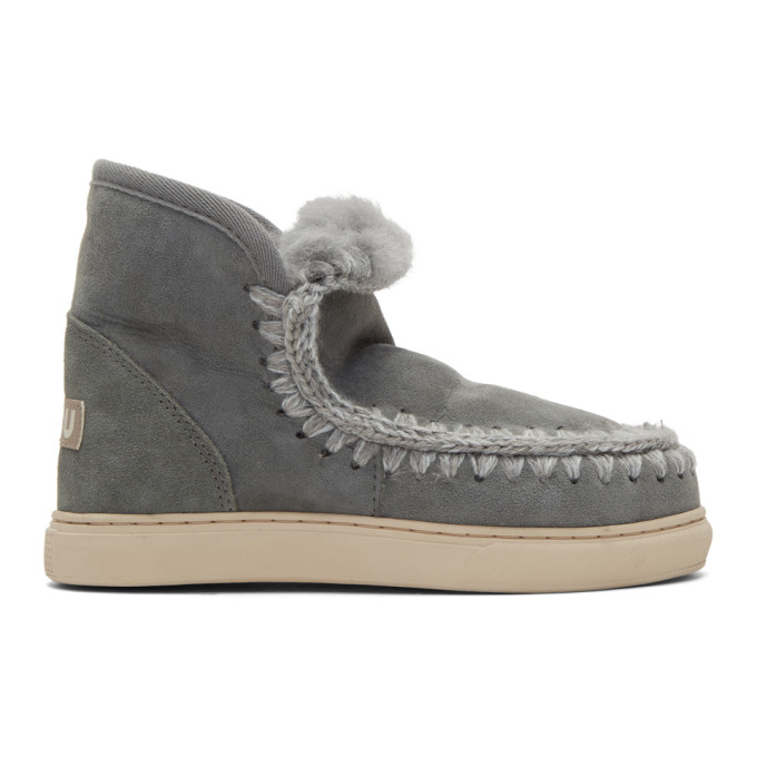 Stella McCartney Black Mini Eskimo Sneaker Boots 3DJOhpJH