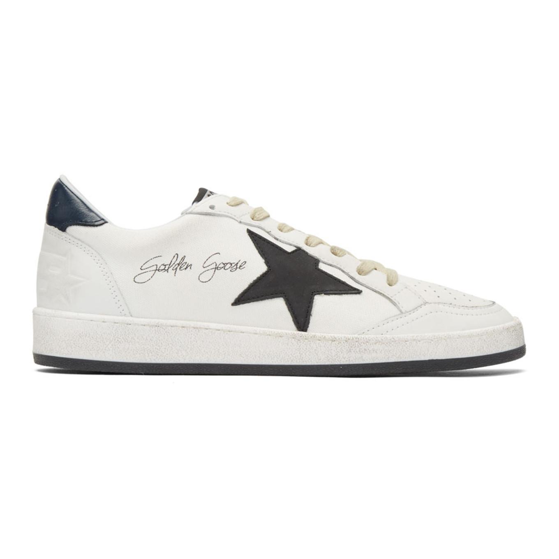 White Signature Ball Star Sneakers Golden Goose oXq0M9dz84