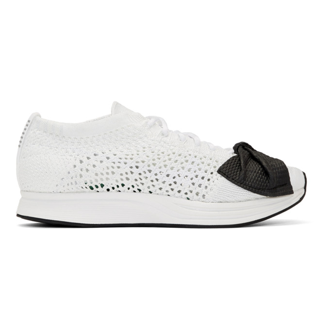 Fendi White Nike Edition Customized Racer Sneakers