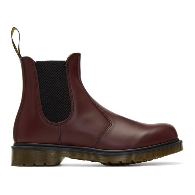 Fendi Red Vegan 2976 Chelsea Boots