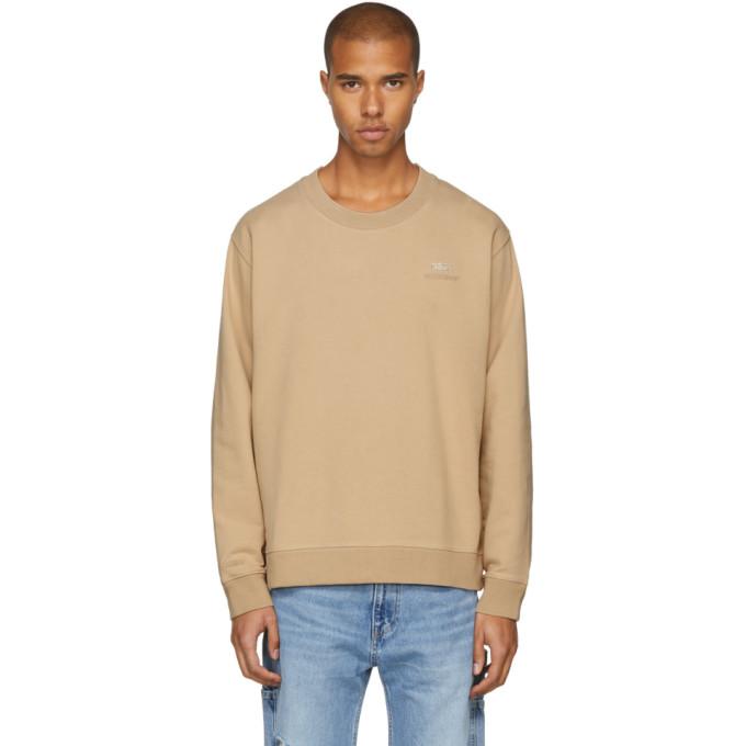 Beige Crystal Crewneck Sweatshirt 032c