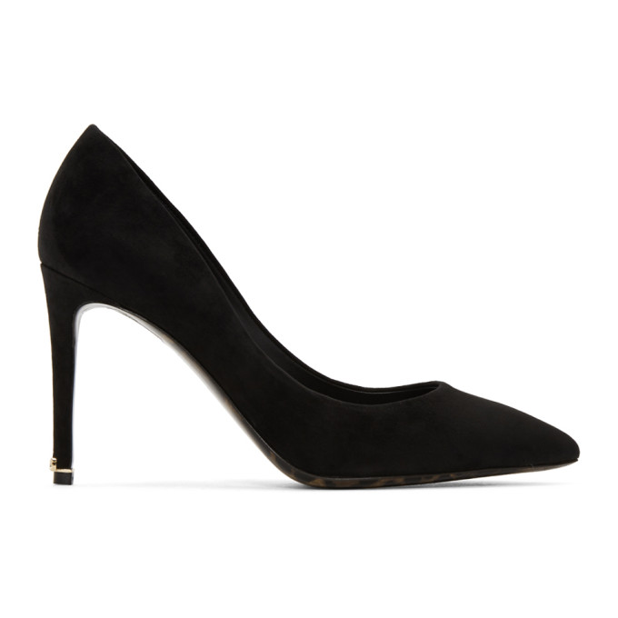 Dolce & Gabbana Pumps Black Suede Kate Heels
