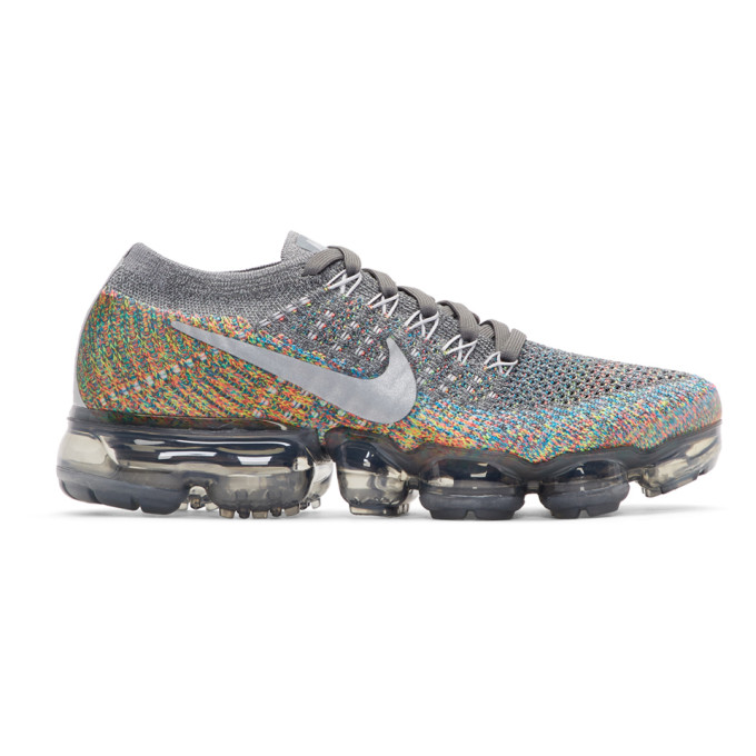 NIKE GREY AIR VAPORMAX SNEAKERS