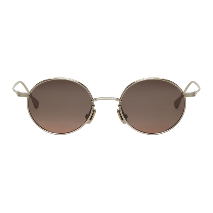 NATIVE SONS Native Sons Silver Orbit Sunglasses in Antiquesilv