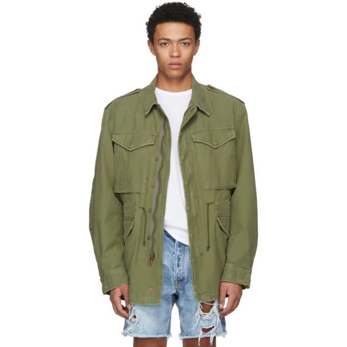ADAPTATION Surplus Field Jacket  in Green