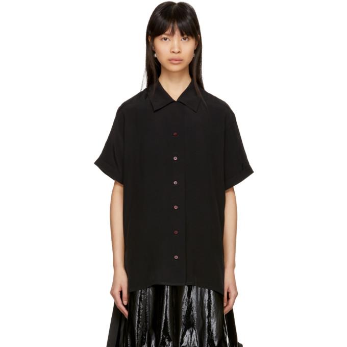 Black Rellah Bowling Shirt by Acne Studios