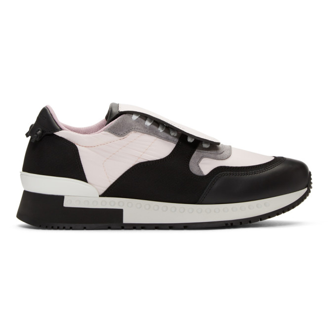 Pink & Black Active Runner Sneakers by Givenchy