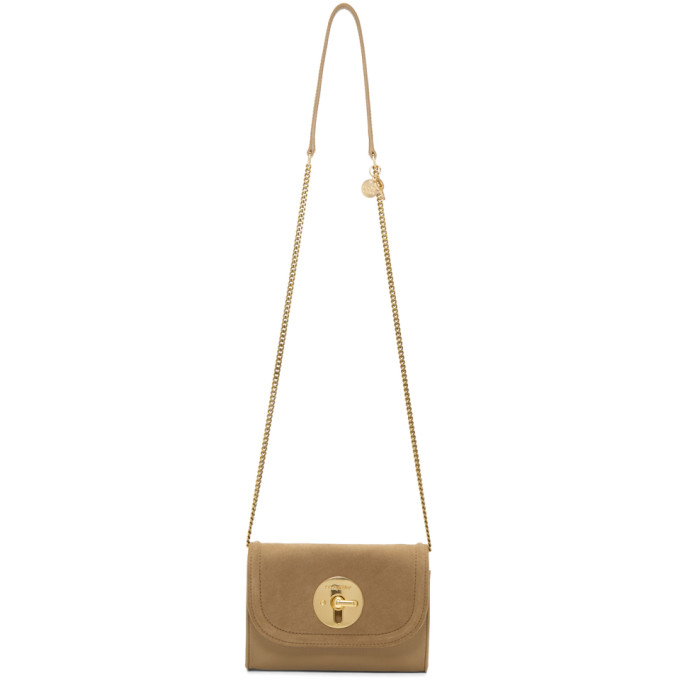 Beige Mini Clasp Bag by See By ChloÉ