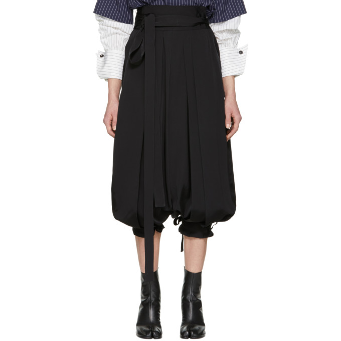 JW ANDERSON CROPPED HAREM TROUSERS