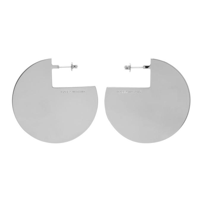Isabel Marant Silver 90 Degree Earrings in Silver 08Si