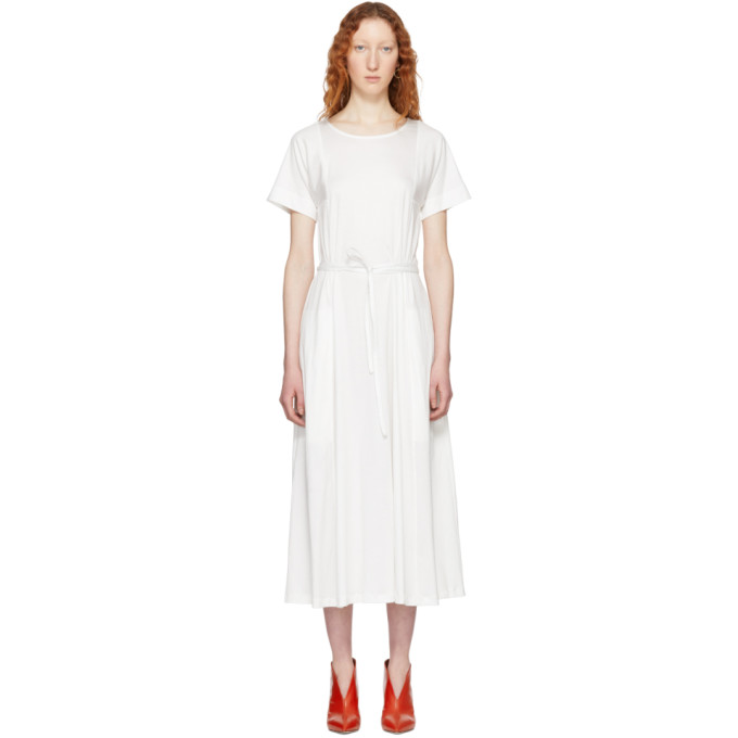 Lemaire  LEMAIRE WHITE T-SHIRT DRESS
