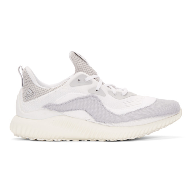 ADIDAS BY KOLOR X Kolor Alpha Bounce Sneakers in White