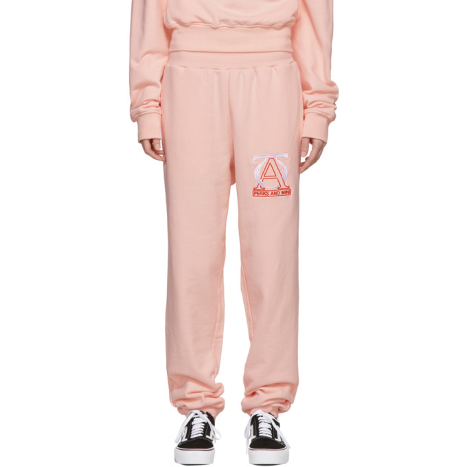 Pink 'Jog Your Mind' Lounge Pants
