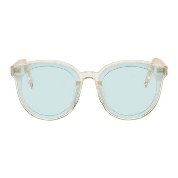 f670ca73f7 GENTLE MONSTER. Gentle Monster Blue Black Peter Sunglasses ...