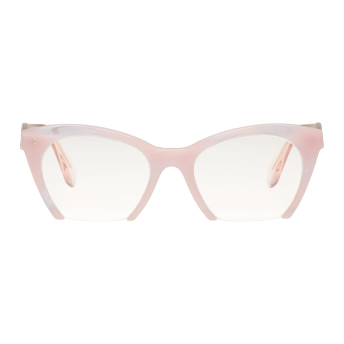 6751f1e83337 MIU MIU Pink Rasoir Glasses