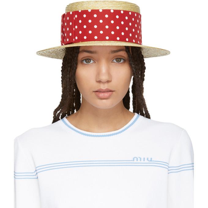 0f9430076a2fd Miu Miu Straw Hat