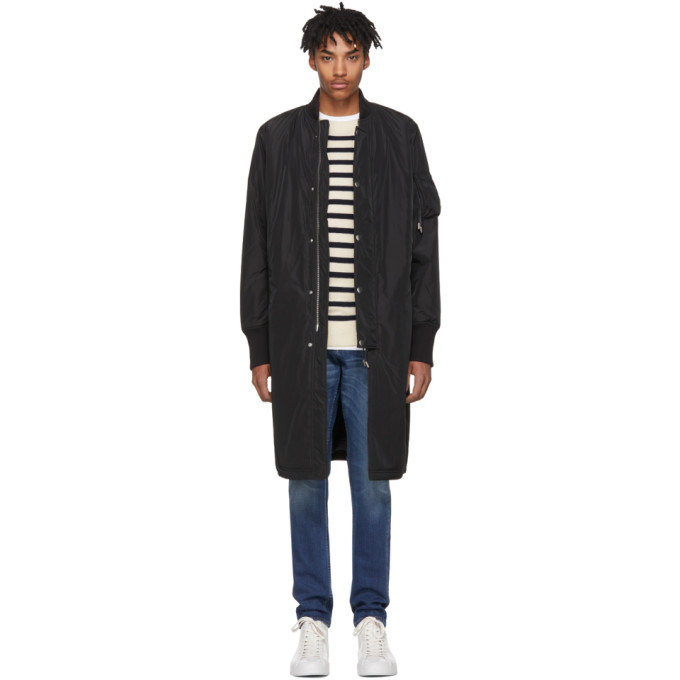 TIGER OF SWEDEN JEANS Tiger Of Sweden Jeans Black Tide Coat