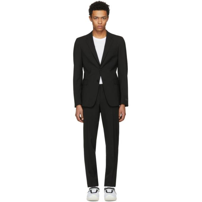 Prada Classic Two Piece Suit - Black, F0002-Nero