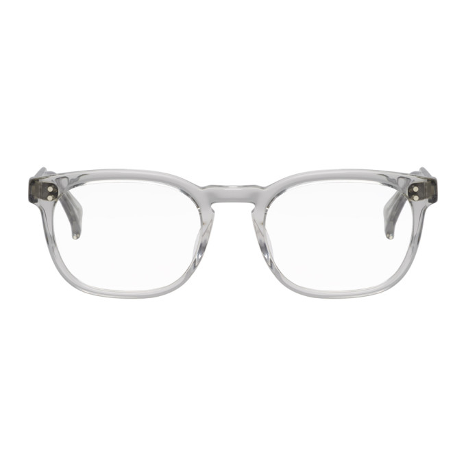 RAEN GREY TRANSPARENT EAGAN GLASSES