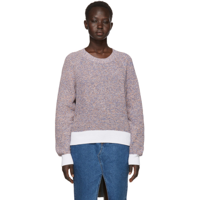 Multicolor Wheeler Crewneck Sweater by Rag & Bone