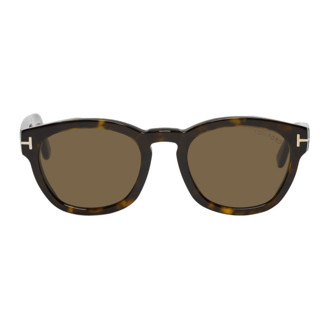 TOM FORD Tortoiseshell Bryan-02 Sunglasses